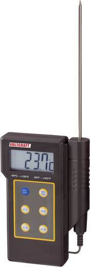 Digitális beszúrós hőmérő, folyadék hőmérő -50 - +300 °C, K típus, Voltcraft DT-300