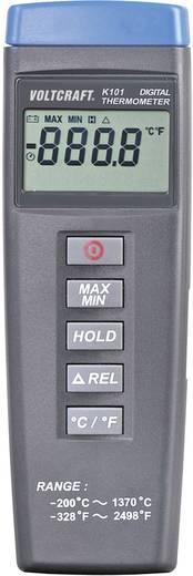 """1 csatornás digitális """"K"""" típusú hőmérő, -200 - +1370 °C, Voltcraft K101"""