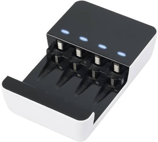 Akkutöltő, Basetech BTL-6, USB 96072C19 BTL-6