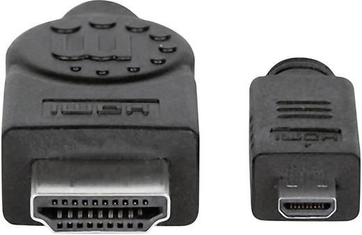 HDMI csatlakozókábel Fekete 2 m