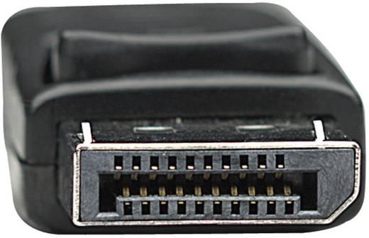 DisplayPort csatlakozókábel [1x DisplayPort dugó - 1x DisplayPort dugó] 3 m fekete, Manhattan 1007661