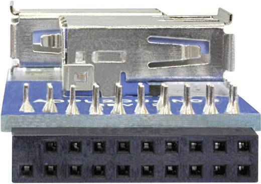 USB 3.0 adapter 2 x USB 3.0 aljzat A – 1 x USB 3.0 aljzat (belső 19 pól.), kék Delock 41846