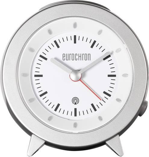 Rádiójel vezérelt ébresztőóra, ezüst Eurochron RC155