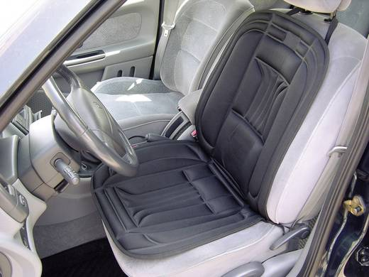 Ülésfűtés, fűthető autós üléshuzat, kettős teljesítményű, APA 28079