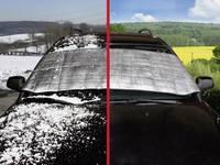 Szélvédő védő, szélvédő takaró fólia 200 cm x 70 cm APA APA