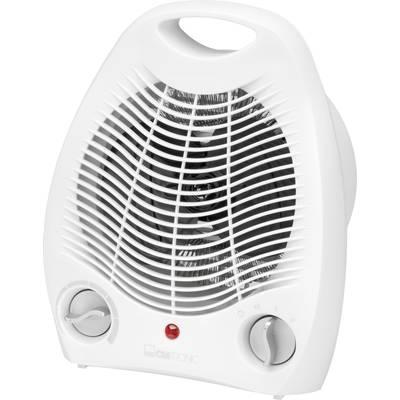 Elektromos fűtőventilátor 1000/2000W 16 m² fehér Clatronic HL 3378