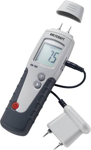 Anyagnedvesség mérő, fanedvesség mérő, keményfához Voltcraft FM-300