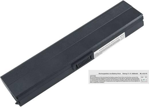 Notebook akku Beltrona Eredeti akku: 90-NER1B1000Y,90-NER1B2000Y,A31-F9,A32-F9 11.1 V 4400 mAh