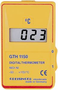 Digitális hőmérő -50 - +1150 °C, K típusú érzékelővel, Greisnger GTH 1150 C Greisinger