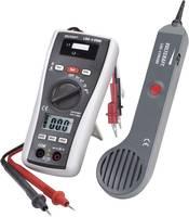 Vezetékvizsgáló kábelteszter és hanggenerátoros vezetékkereső multiméter, Voltcraft LSG-4 VOLTCRAFT