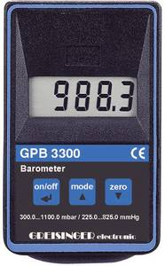 Digitális kézi barométer, légnyomásmérő 0.3 - 1.1 bar Greisinger GPB 3300 Greisinger