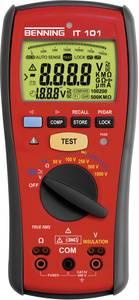 Szigetelési ellenállásmérő 50/100/250/500/1000 V 0 - 20 GΩ CAT IV 600 V Benning IT 101 Benning