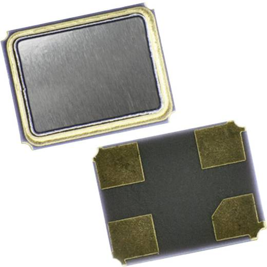 Kvarc, QC32 sorozat Qantek QC3225.0000F12B12M Frekvencia 25.000 MHz Kivitel 4-PAD SMD (H x Sz x Ma) 3.2 x 2.5 x 0.8 mm