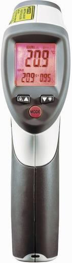 Infra hőmérő pisztoly, távhőmérő, lézeres célzóval 20:1-es optikával -50 +800 ºC-ig Voltcraft IR 800-20D