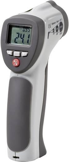 Infra hőmérő pisztoly, távhőmérő lézeres célzóval, K hőelem csatlakozóval 30:1 -50-től +900 °C-ig Voltcraft IR 900-30S