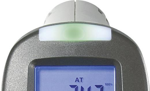 Infra hőmérő, harmatpont mérő műszer, penészesedés jelzéssel Voltcraft IR-SCAN-350RH/2