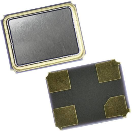 Kvarc, MT sorozat EuroQuartz 12.000MHz MT/30/30/-40+85/12pF Kivitel 4-PAD SMD, 3,2 x 2,5 x 0,7 mm