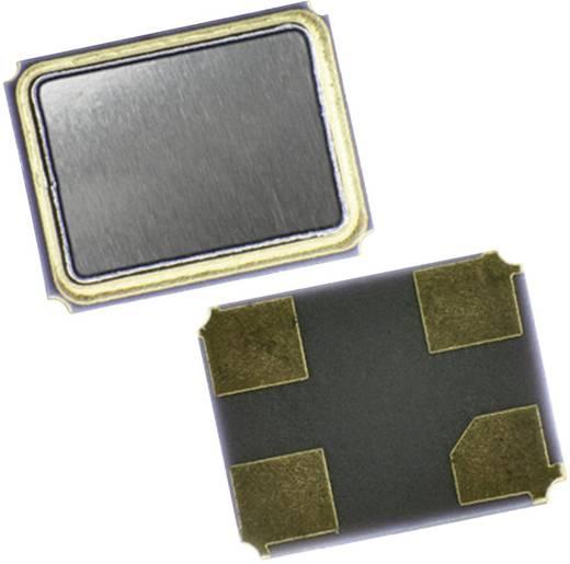 Kvarc, MT sorozat EuroQuartz 16.384MHz MT/30/30/-40+85/12pF Kivitel 4-PAD SMD, 3,2 x 2,5 x 0,7 mm
