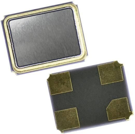 Kvarc, MT sorozat EuroQuartz 20.000MHz MT/30/30/-40+85/12pF Kivitel 4-PAD SMD, 3,2 x 2,5 x 0,7 mm