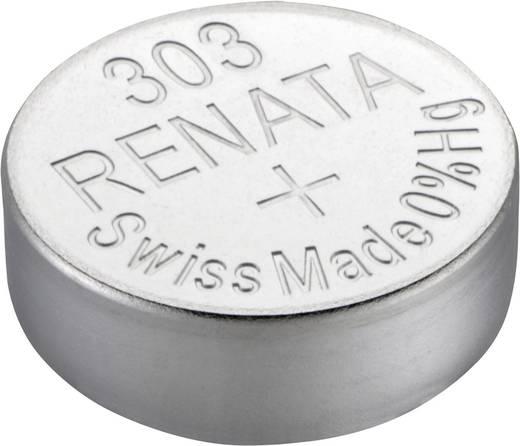 303 gombelem, ezüstoxid, 1,55V, 175 mAh, Renata SR44SW, SR44, SR1154, V303, D303, A, 280‑08, SB‑A9, RW32, WS14