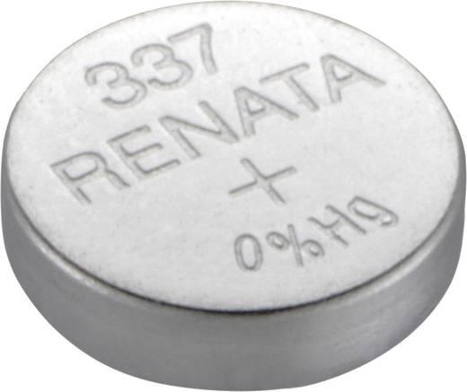 337 gombelem, ezüstoxid, 1,55V, 8 mAh, Renata SR416SW, SR416, V337, D337, 280‑75, SB‑A5, LR416, 337A, 337X, E337