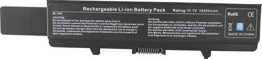 Litium ion laptop akkumulátor Dell típusokhoz 8800 mAh 11,1V Beltrona 1525HH