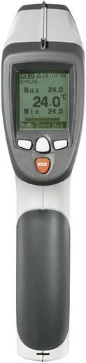 Infravörös hőmérő, optika 50:1, -50 - +1200 °C, VOLTCRAFT IR-1200-50D USB