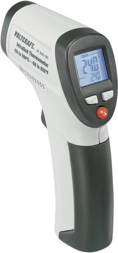 Infravörös hőmérő, optika 8:1, -50- +500 °C, VOLTCRAFT IR 500-8S