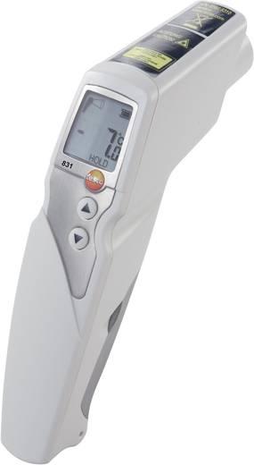 Infravörös hőmérő, távhőmérő 30:1 optikával -30 től +210°C-ig Testo 831