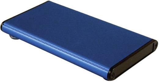 Hammond Electronics fröccsöntött doboz 1455A1202BU (H x Sz x Ma) 120 x 70 x 12 mm, kék