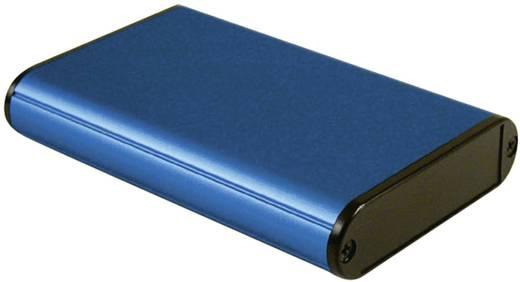 Hammond Electronics fröccsöntött doboz 1455B1002BU (H x Sz x Ma) 100 x 71.7 x 19 mm, kék