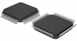 ARM processzor, ház típus: LQFP-64, órasebesség: 48 MHz, flash memória: 128 kB, RAM: 16 kB, Atmel ATSAM3N2BA-A Microchip Technology