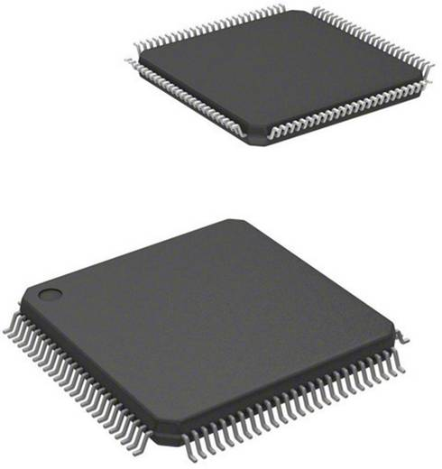 ARM processzor, ház típus: LQFP-100, órasebesség: 64 MHz, flash memória: 128 kB, RAM: 32 kB, Atmel ATSAM3S2CA-AU