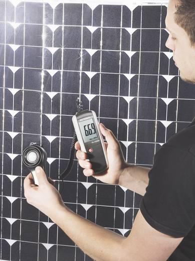 Digitális fénymérő, fotovoltaik mérő, analizáló napelemekhez LCD, 0 - 1999 W/m², VOLTCRAFT PL-110SM