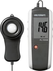 Digitális fénymérő, fotovoltaik mérő, analizáló napelemekhez LCD, 0 - 1999 W/m², VOLTCRAFT PL-110SM VOLTCRAFT