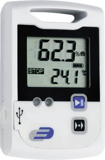 Hőmérséklet mérés adatgyűjtő, 2 x 60000 adat tárolással, -30…+70 °C, Dostmann Electronic LOG100