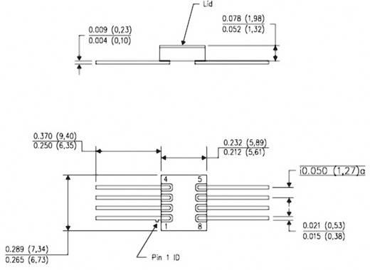 Lineáris IC OPA211SHKJ CFP-8 Texas Instruments