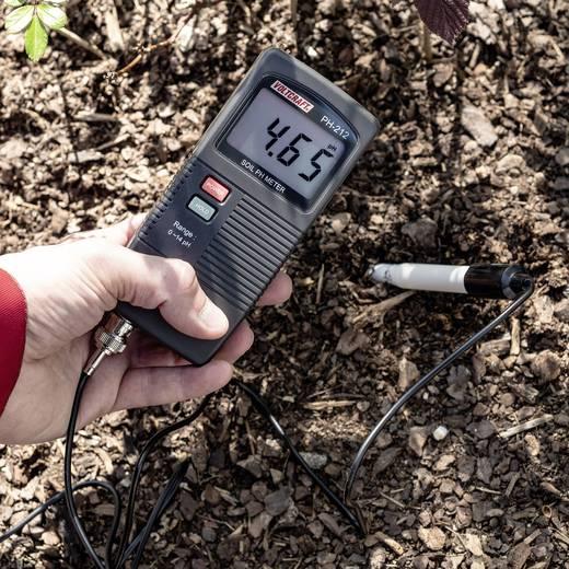 Talaj pH mérő műszer, 0 - 13 pH, Voltcraft pH-212