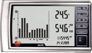 Fali hygrométer, hőmérséklet, páratartalommérő műszer Testo 623 testo