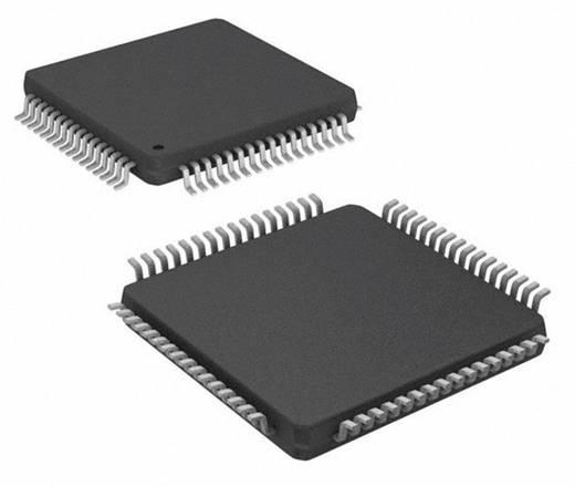 AVR-RISC mikrokontroller, ház típus: TQFP-64, órasebesség: 16 MHz, flash memória: 16 kB, RAM: 1 kB, Atmel ATMEGA19PA-AU