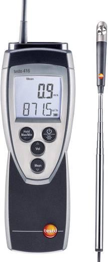 Szárnykerekes légsebesség mérő, anemométer testo 416 0.6 - 40 m/s