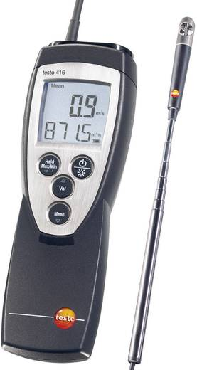 Szárnykerekes légsebesség mérő, anemométer 0,6...40 m/s testo 416
