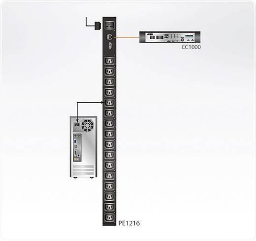 16 aljzatos hálózati elosztó számítógép tápcsatlakozóhoz (16 x C13) Aten PE1216G