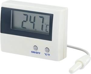 Beépíthető LCD hőmérő modul, panelműszer, elemes hőmérő ‑50-től +80°C-ig Basetech LT-80 Basetech