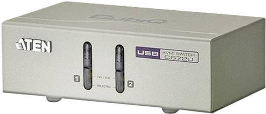 2 portos USB - KVM switch, elosztó VGA kimenettel Aten CS72U