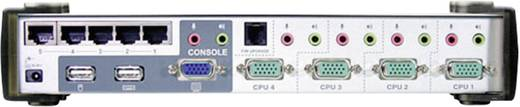4 portos KVM switch, (billentyűzet, video, egér) elosztó, és USB 2.0 Hub Aten CS1774C-AT-G