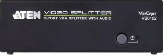 2 portos VGA elosztó 1920 x 1440 pixel, fekete, ATEN VS0102