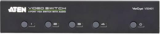 4 portos VGA switch 1920 x 1440 Pixel ATEN ezüst