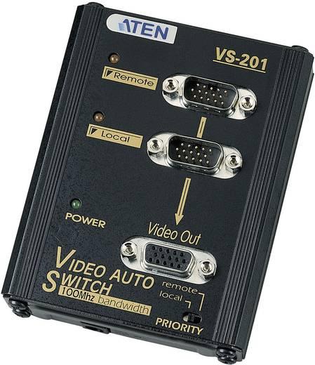 2 portos VGA elosztó 1920 x 1440 pixel, fekete, ATEN VS201-AT-G