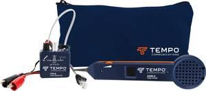 Vezetékvizsgáló kábelteszter és hanggenerátoros vezetékkereső RJ11/RJ45 max. 10 km vezetékhosszig Greenlee 601K-G-BOX Tempo Communications